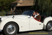 Triumph TR3B 1962 - Old English White