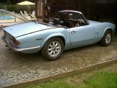 Triumph Spitfire MK4 Wedgwood Blue 4 cylindres 1296 cm³