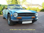 Triumph TR6 French Blue USA